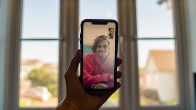 FaceTime friends and family